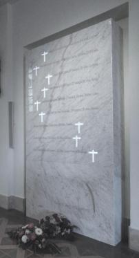 Proy. & Dir. Obra. Monumento Seminaristas Mártires del Seminario Metropolitano de Oviedo. 2012