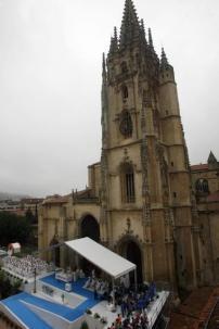 Proy. & Dir. Obra. Estrado JMJ en Oviedo. 2011