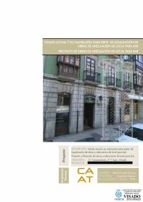 Proy. & Dir. Obra. Adecuación de local de hostelería en Oviedo. 2011