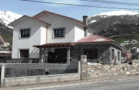Dir. Ejec. Obra. Vivienda unifamiliar en Felechosa (Asturias). 2013