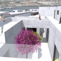 Proy. Complejo comercial en Oporto. 2014